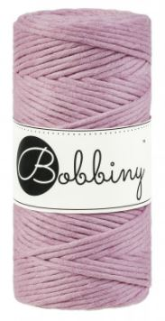 Bobbiny regular 3mm - starorůžová (dusty pink)