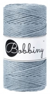Bobbiny regular 3mm - raw denim