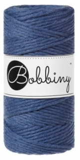 Bobbiny regular 3mm - jeans