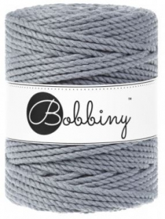 Bobbiny 3PLY XXL 5mm - ocel (steel)