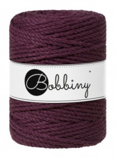 Bobbiny 3PLY XXL 5mm - ostružina (blackberry)