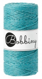 Bobbiny regular 3mm - moře (teal)